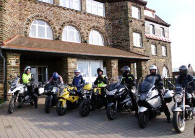 Sachsenbaude Motorradgruppesmall