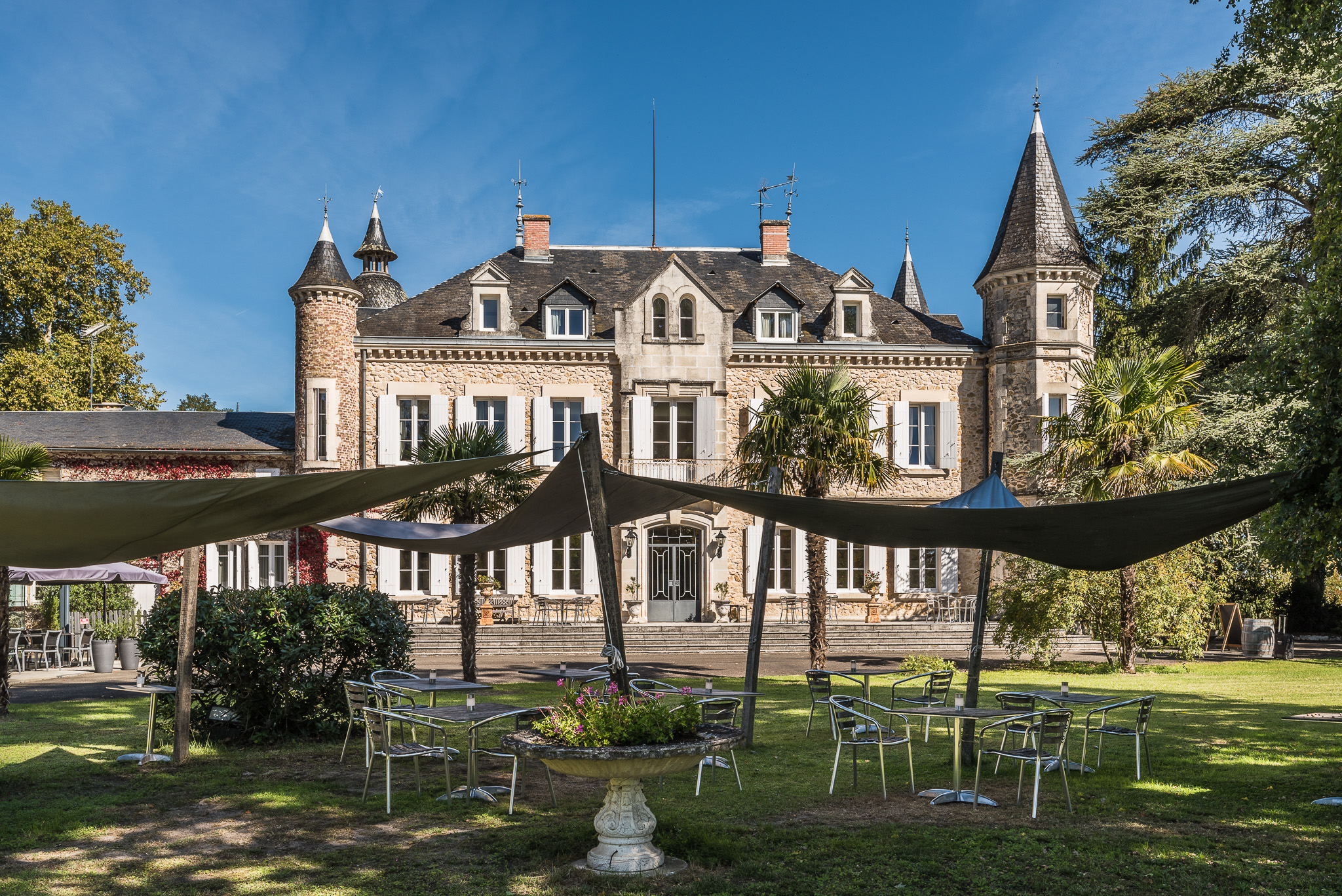 Motorhotel Chateau De Buros Landes Frankrijk